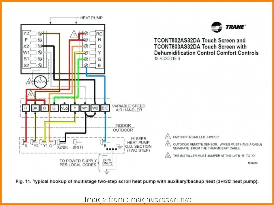 typical thermostat wiring diagram Hvac thermostat Wiring Diagram Image, Wiring Diagram 11 Best Typical Thermostat Wiring Diagram Pictures