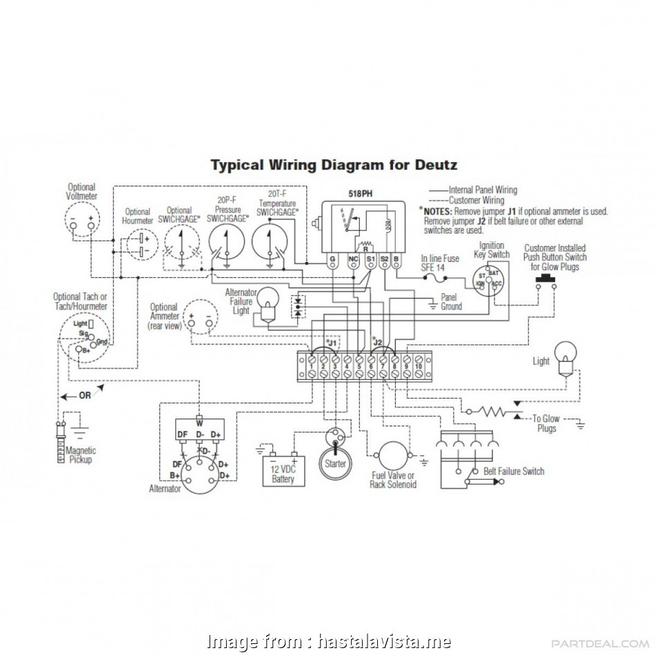 Valeo Starter Wiring Diagram Popular     Deutz Alternator