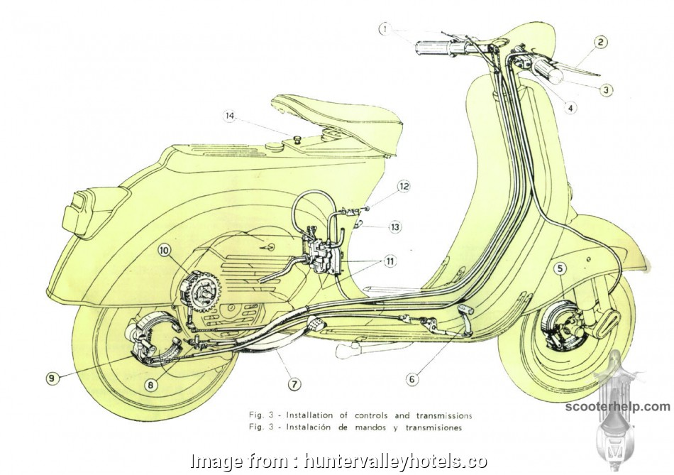 Vespa Light Switch Wiring Popular Vespa 90 Owner S Manual