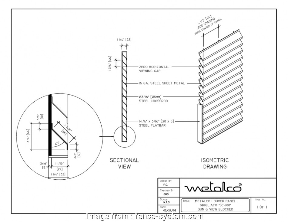 Welded Wire Mesh Fence Details Best Screen Systems Drawings