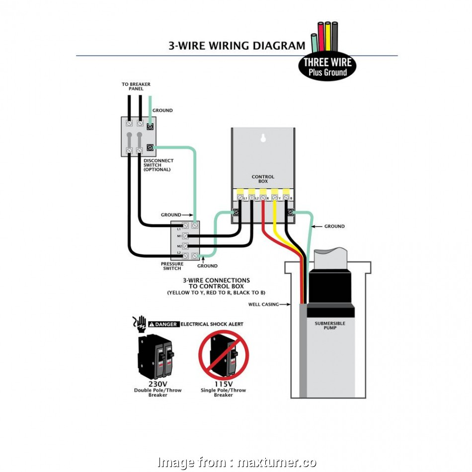 Well Pump Wiring Diagram Simple Well Pump Wiring Example
