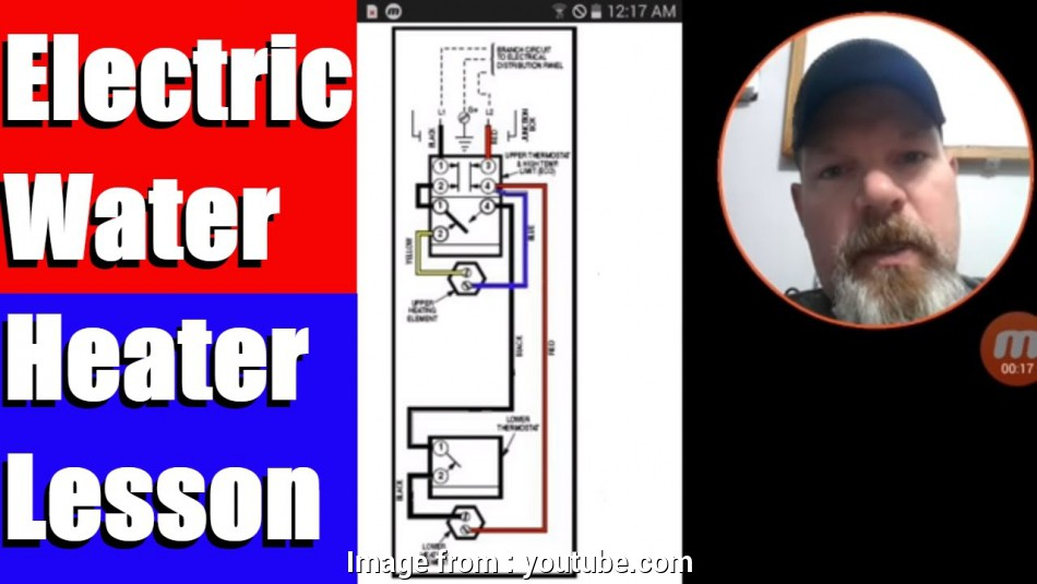 wh10a thermostat wiring diagram Electric Water Heater Lesson Wiring Schematic, Operation Wh10A Thermostat Wiring Diagram Top Electric Water Heater Lesson Wiring Schematic, Operation Photos