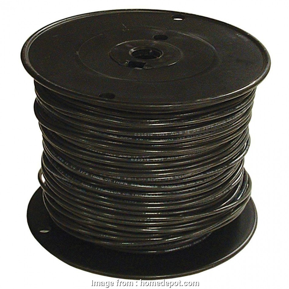what electrical wire is black Southwire 1000, 6 Black Stranded CU SIMpull THHN Wire 15 Simple What Electrical Wire Is Black Galleries