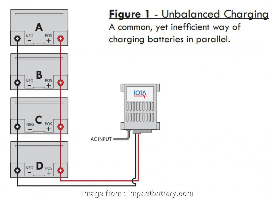 what gauge wire for 6 volt battery Charging Batteries in Parallel,, to Charge Batteries in Parallel 9 Perfect What Gauge Wire, 6 Volt Battery Ideas