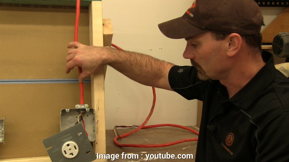 what size electrical wire to use for a dryer Dryer Receptacle Wiring 9 Top What Size Electrical Wire To, For A Dryer Images