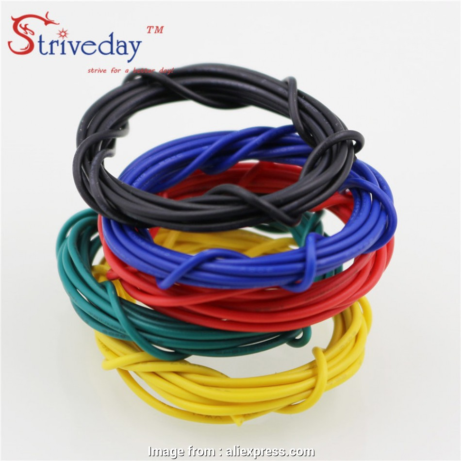 which electrical wire to buy Striveday 1007 24, Cable Copper Wire 1 Meter, /Blue /Green/ Black / Yellow Electrical Wires Cables, Equipment Wire-in Wires & Cables from Lights 18 Best Which Electrical Wire To Buy Pictures