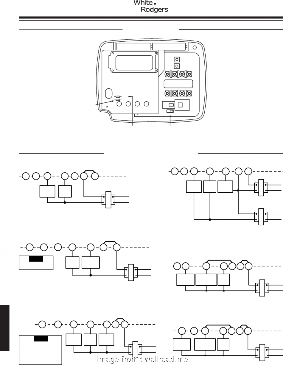 Cool White Rodgers Thermostat Wiring Diagram 1F80 261 Brilliant Emerson Wiring Digital Resources Counpmognl