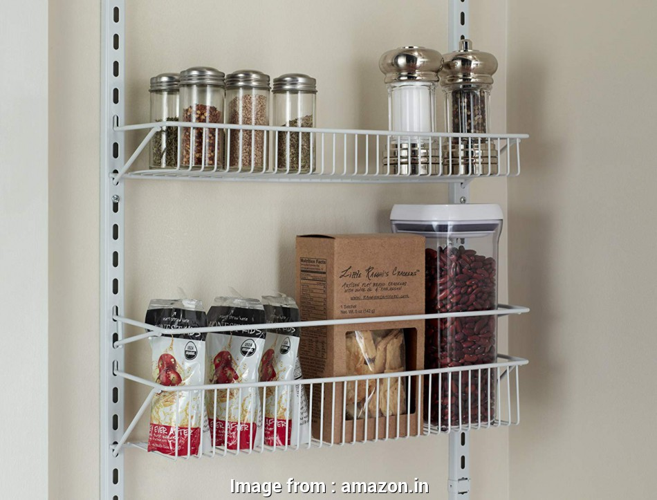 wire closet shelving in india Buy ClosetMaid 1233 Adjustable 8-Tier Wall, Door Rack, 18-Inch Online at, Prices in India, Amazon.in 16 Most Wire Closet Shelving In India Ideas