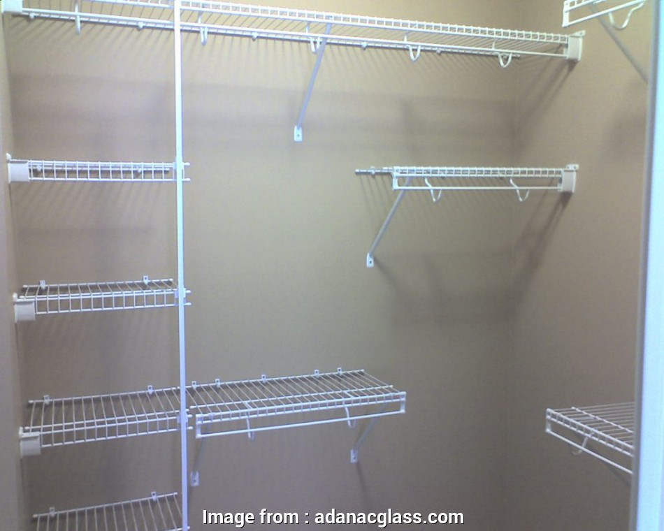 wire closet shelving layout Closet Systems & Wire Shelving, Adanac Glass 8 Most Wire Closet Shelving Layout Images