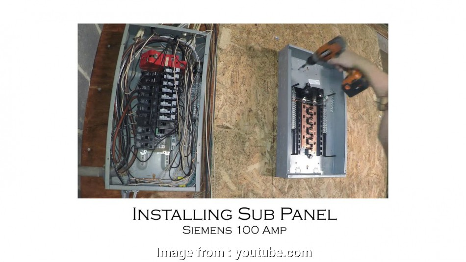 Wire Gauge  125  Sub Panel Most How To Install An Electric