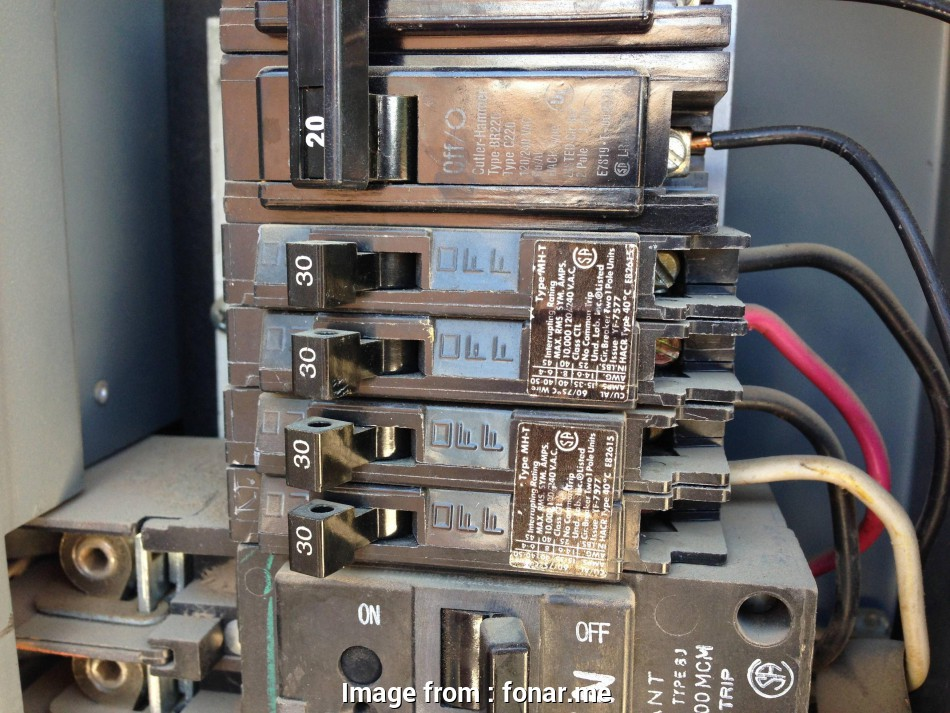 Wire Gauge 60  Breaker Nice Electrical Using A 30  Tandem