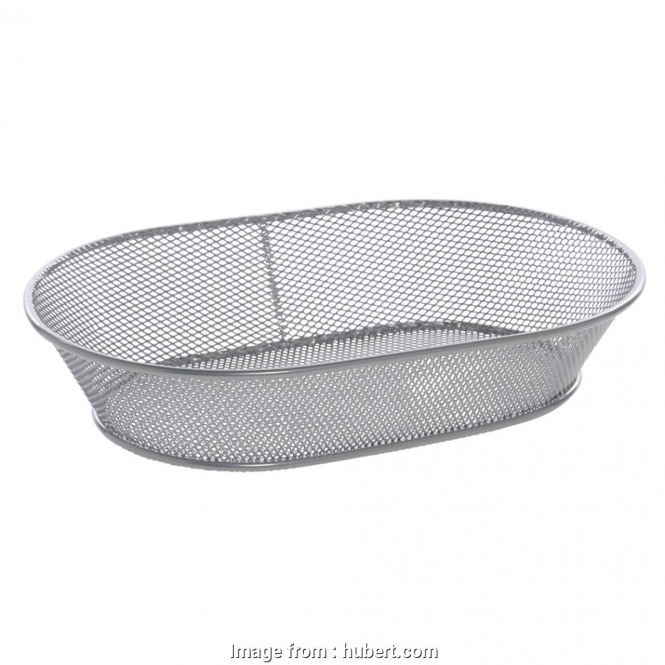 wire mesh bread baskets Expressly HUBERT® Silver Wire Mesh Bread Basket, 11