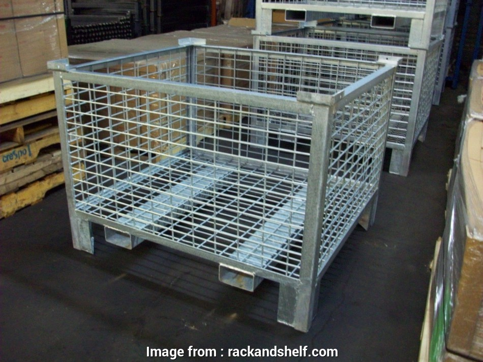 wire mesh dipping basket Rigid Wire Containers 12 New Wire Mesh Dipping Basket Photos