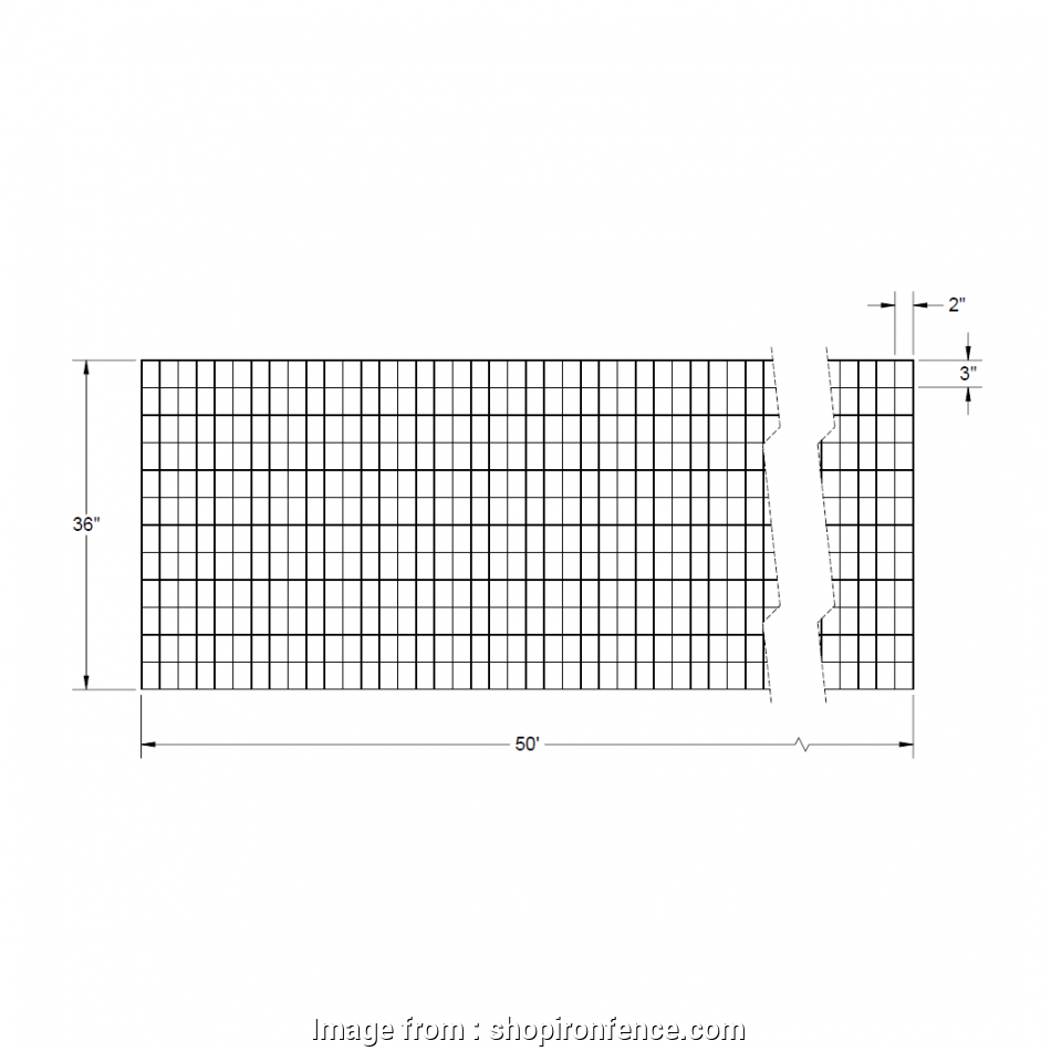 wire mesh fence dimensions Welded Wire Mesh Roll, 36″ x 50′ 16 Top Wire Mesh Fence Dimensions Collections