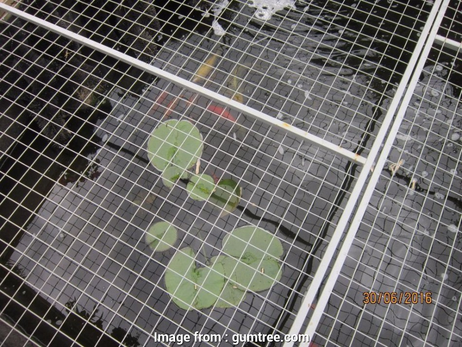 wire mesh panels for ponds STEEL MESH PANELS, (7'3