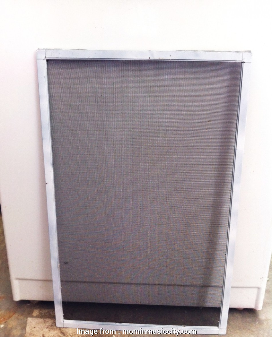 wire mesh window screen Just be careful, to slip, damage, mesh. To finish it off, I trimmed, excess screen wire, mesh. windowscreen5 11 Most Wire Mesh Window Screen Ideas