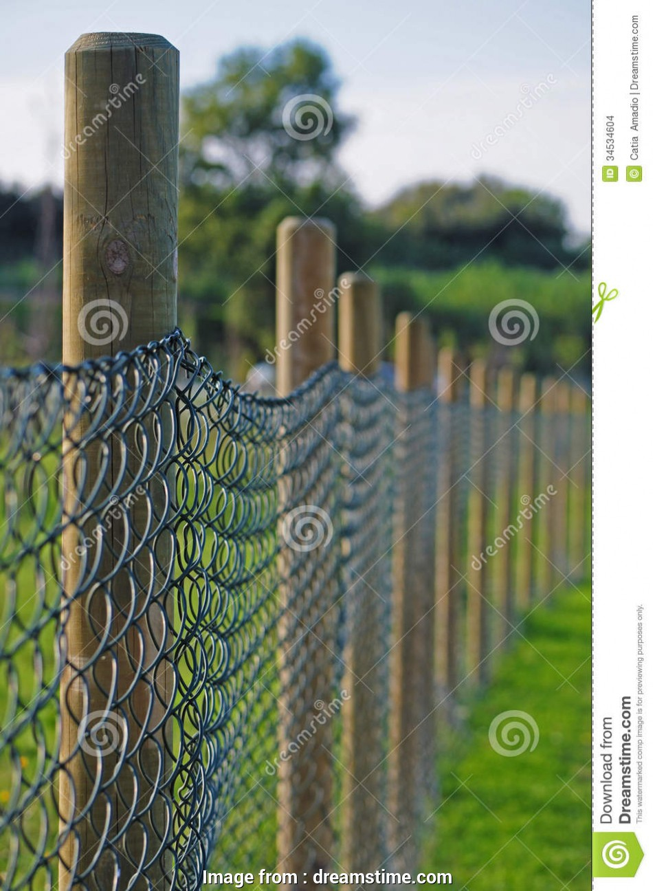 Wire Mesh Wood Fence Professional Wooden Poles Fence Stock