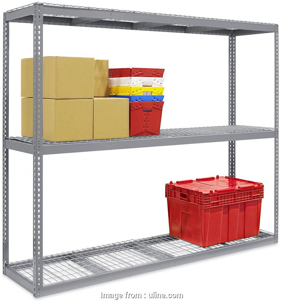 wire rack storage shelving Wire Decking, Wide Span Storage Racks in Stock, ULINE Wire Rack Storage Shelving Popular Wire Decking, Wide Span Storage Racks In Stock, ULINE Solutions