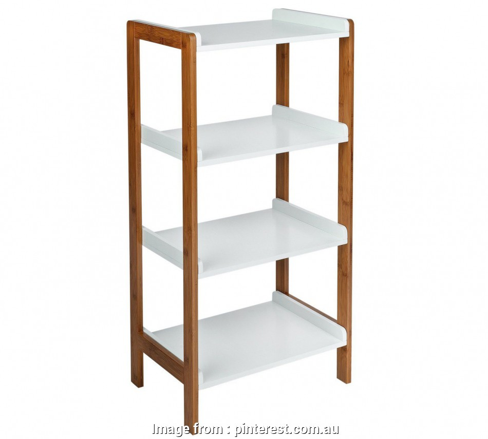 wire shelving units argos Buy Collection 4 Tier Bamboo Shelf Unit -, Tone at Argos.co.uk 13 New Wire Shelving Units Argos Photos