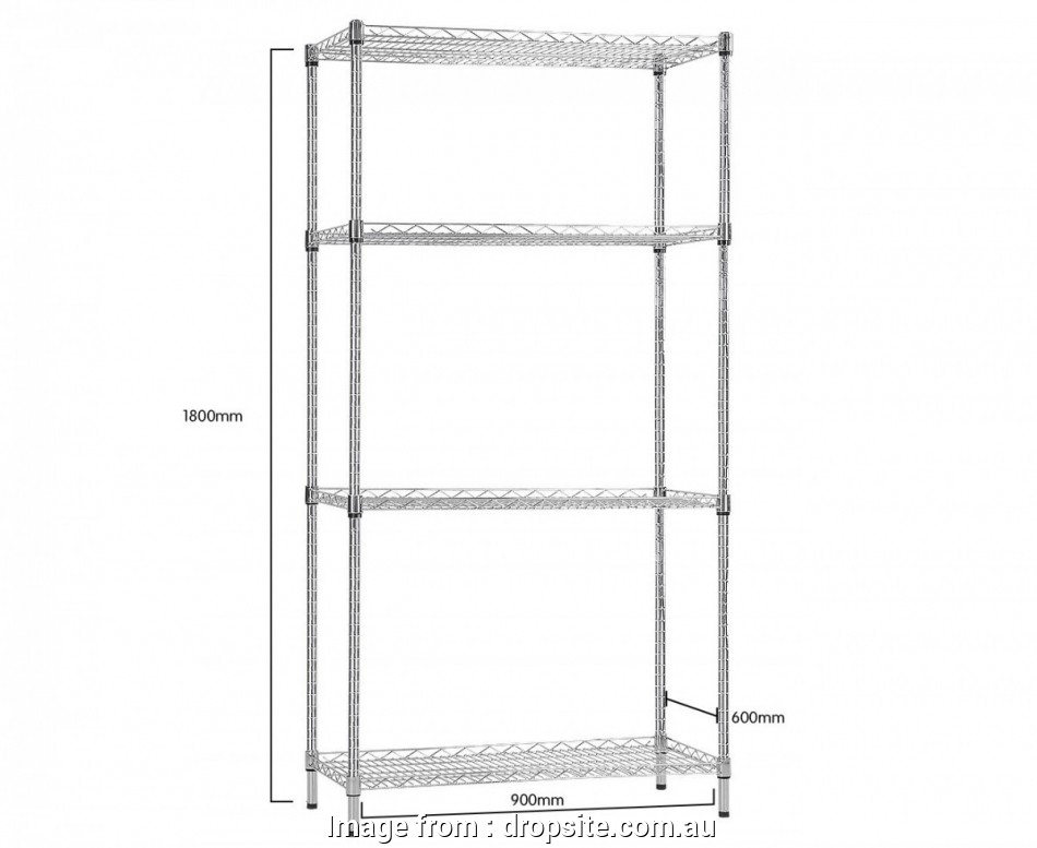 wire shelving units australia Syncrosteel Chrome Wire Shelving Storage Unit -, x 600mm, 1.8m high 11 Professional Wire Shelving Units Australia Ideas