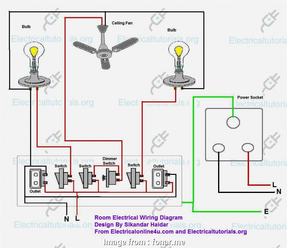 download schema wiring multiple switched outlets diagram