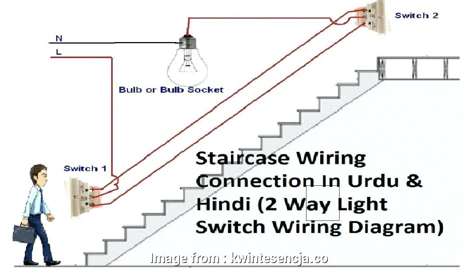 Wiring, 2 Gang 2, Switch Creative 4 Wire Ceiling, Wiring ... on