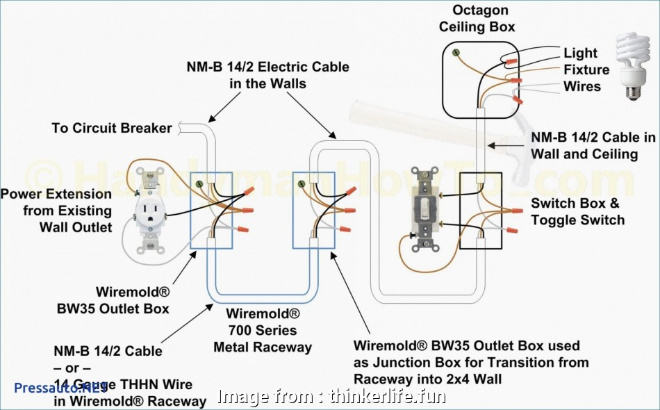 Wiring 2  Light Switch Junction Box Most     Single Pole