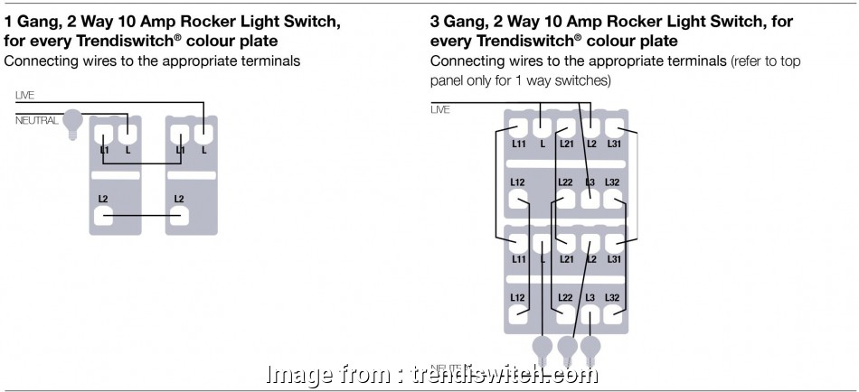wiring 2 way switch 1 way how to wire, 3 gang 2, trendi light