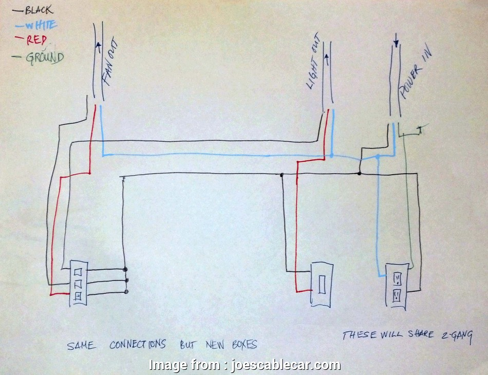 Wiring A Ceiling, Light Combo Simple Wiring Diagram, Fan ... on