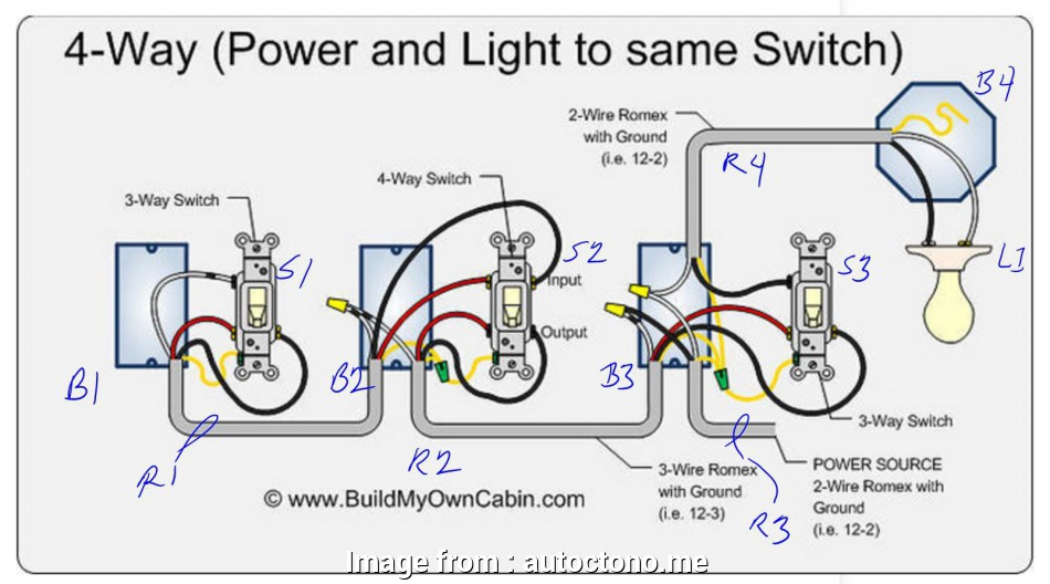 Wiring A Dead  Switch Cleaver Wiring Diagrams 4  Three