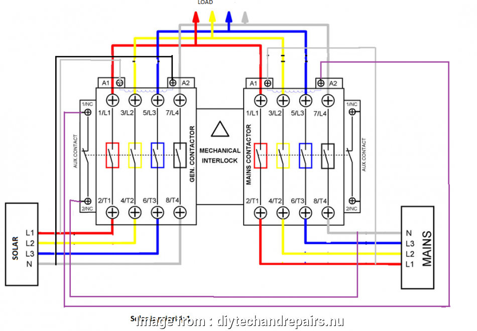 Wiring A Grid Switch Diagram Simple Automatic Transfer ... on
