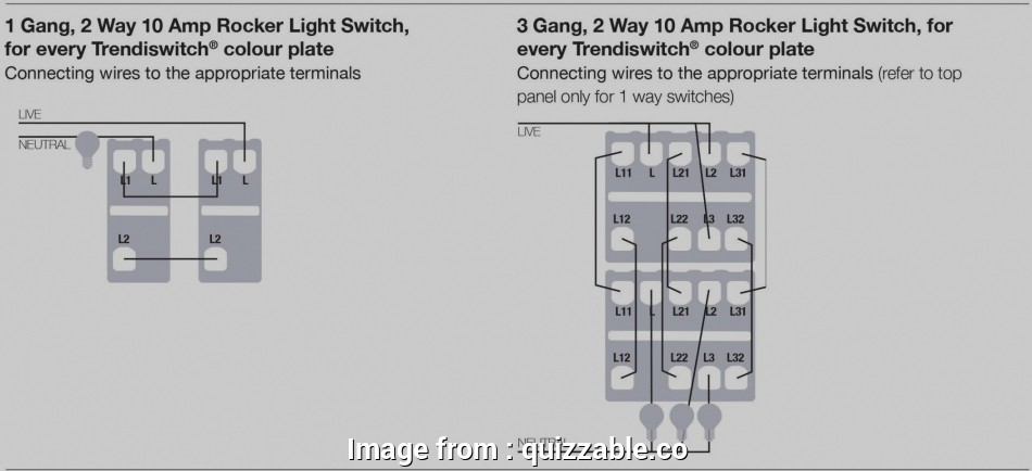 Wiring A Light Switch 1 Way Practical One Gang, Way Switch ... on
