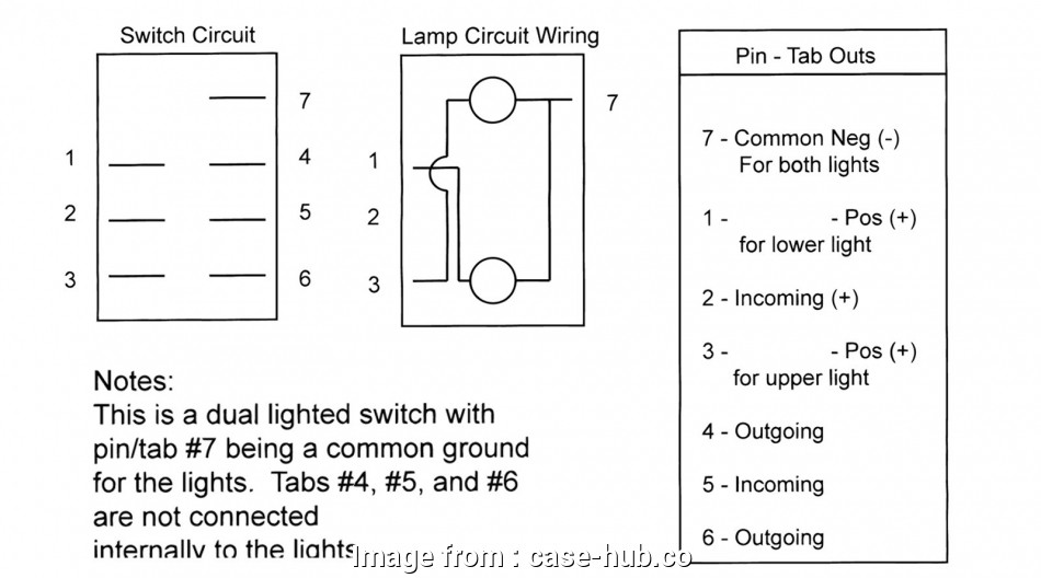 Wiring A Lighted Toggle Switch Diagram Cleaver Carling