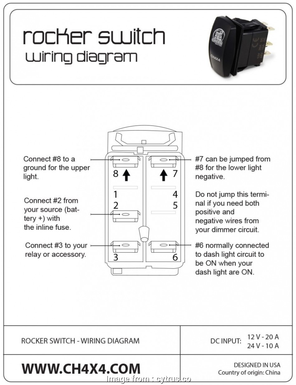 Wiring A Lighted Toggle Switch Diagram Creative Wiring Rocker Switch Diagram Wiring Diagrams