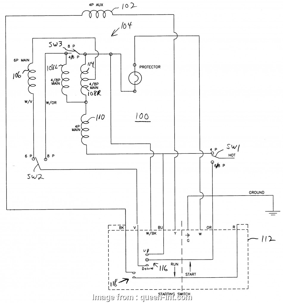 Single Phase Reversing Motor Wiring Diagram from tonetastic.info