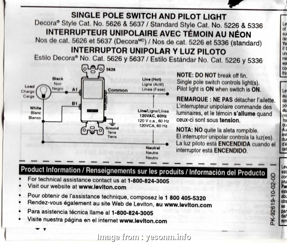 wiring a single pole switch with pilot light Wiring Diagram, Single Pole Switch with Pilot Light Best Am 8 Most Wiring A Single Pole Switch With Pilot Light Images