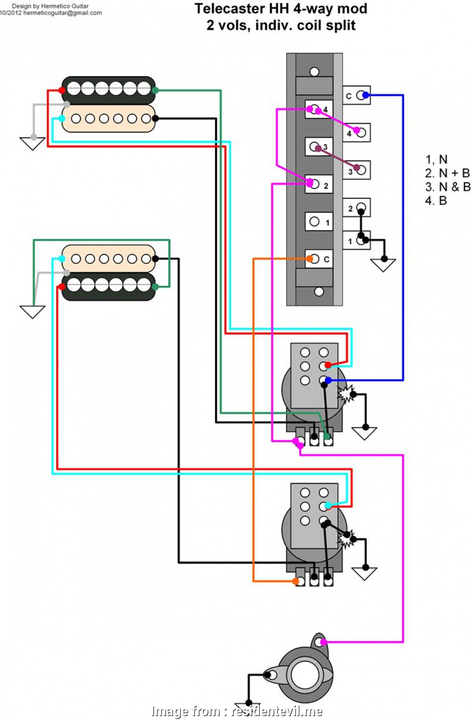 3 Way Outlet Wiring Diagram from tonetastic.info