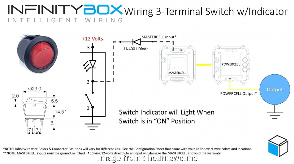 Wiring A Switch 12 Volt Perfect 3  Rocker Switch Wiring