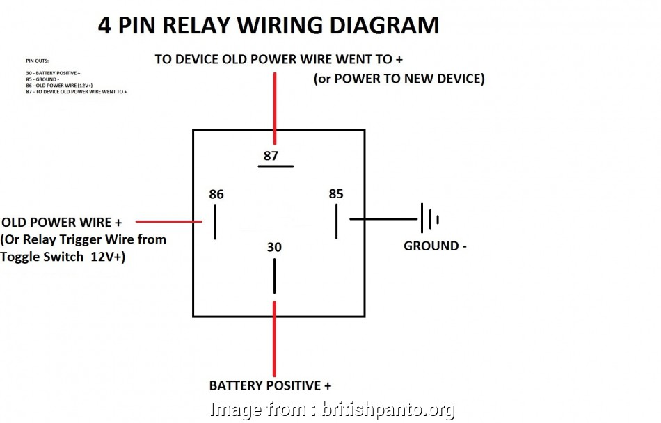 Wiring A Switch Circuit Nice Relay 4  Wiring Diagram With