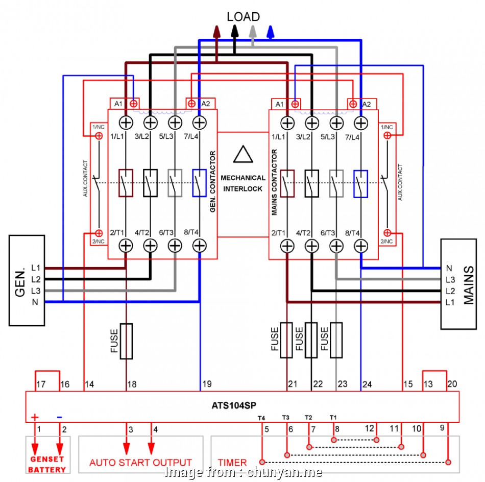 Wiring A Switch Contactor Most Image Result  3 Phase
