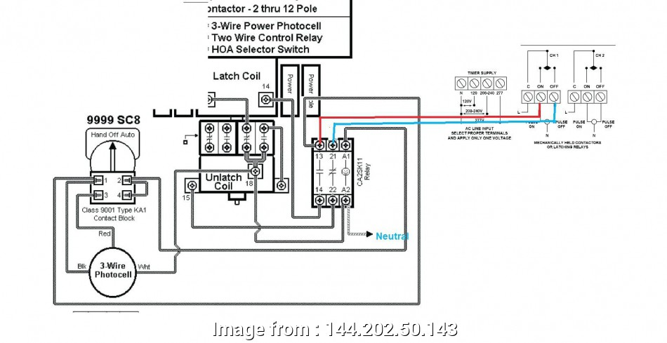 Square D Contactor Wiring Diagram from tonetastic.info