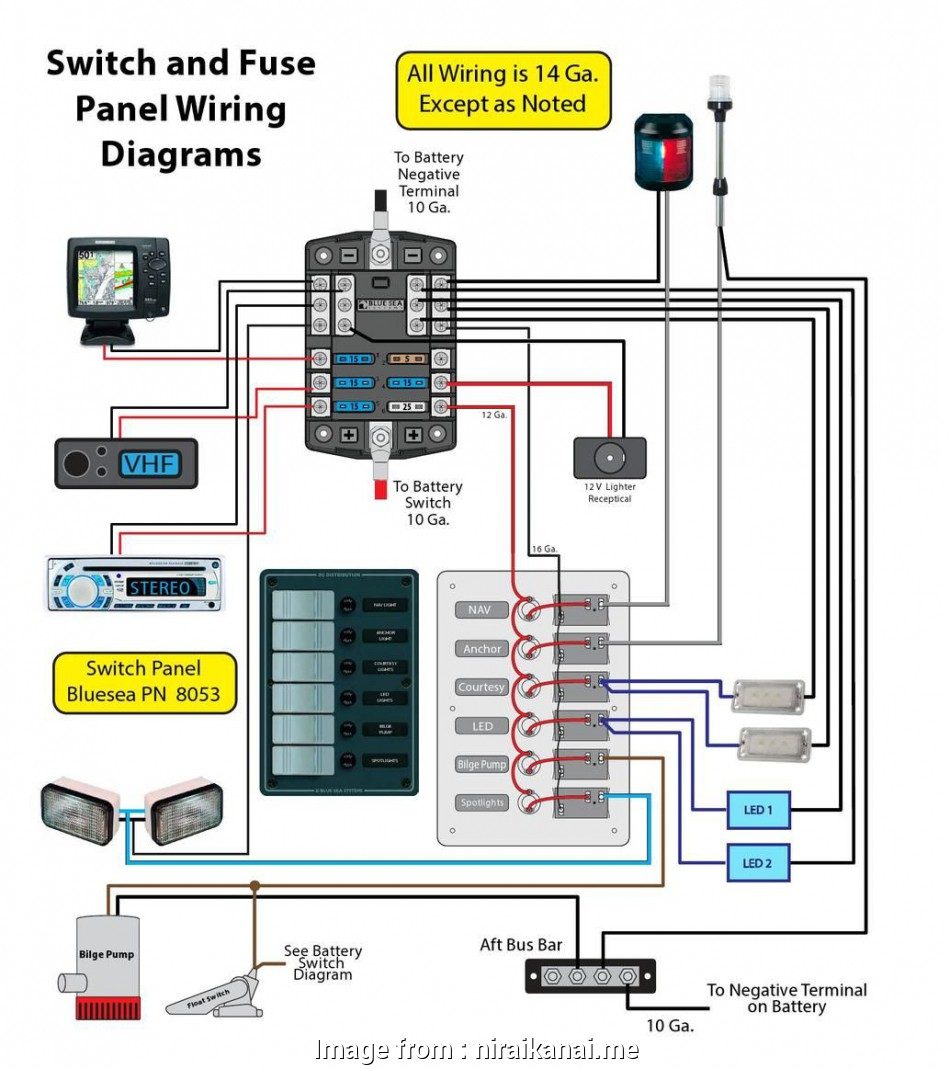 wiring a switch on a boat In Boat Switch Panel Wiring Diagram, Wiring Diagram 19 Simple Wiring A Switch On A Boat Images
