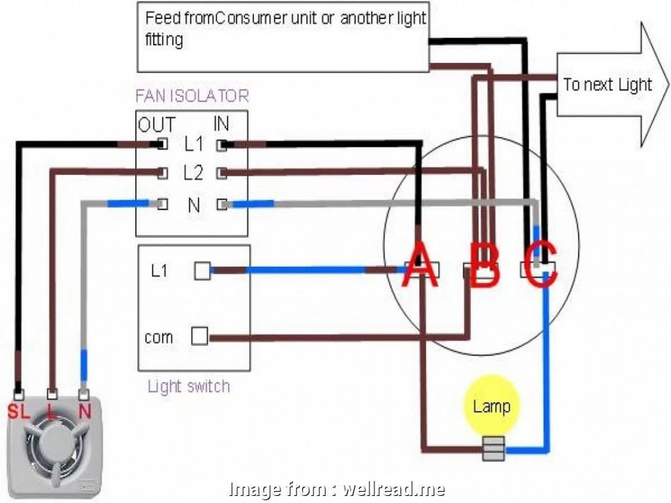 wiring a switch to existing light How To Wire A Bathroom, An Existing Light Switch Wiring Diagram 16 Best Wiring A Switch To Existing Light Images