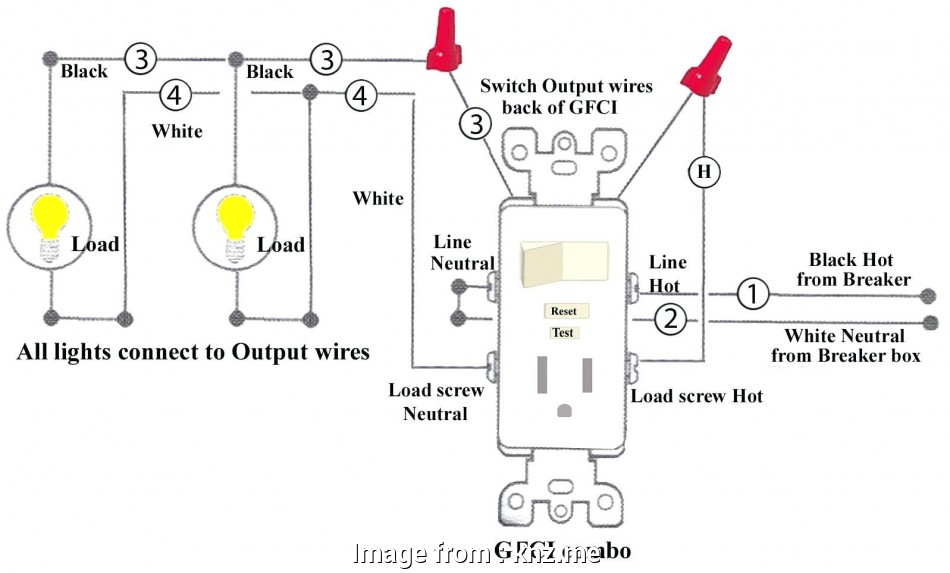Wiring A Switched Outlet In Series Top     Diagram Half