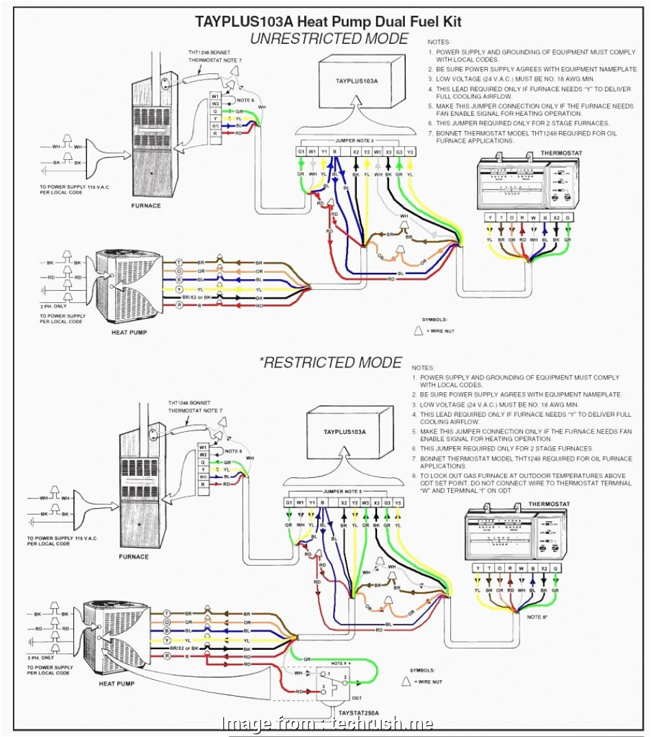 Wiring Diagram  Honeywell Rth3100c Thermostat Professional