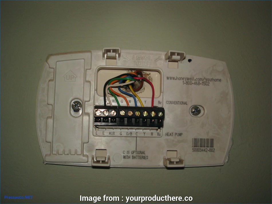 Wiring Diagram  Honeywell Thermostat Rth2300  Rth221