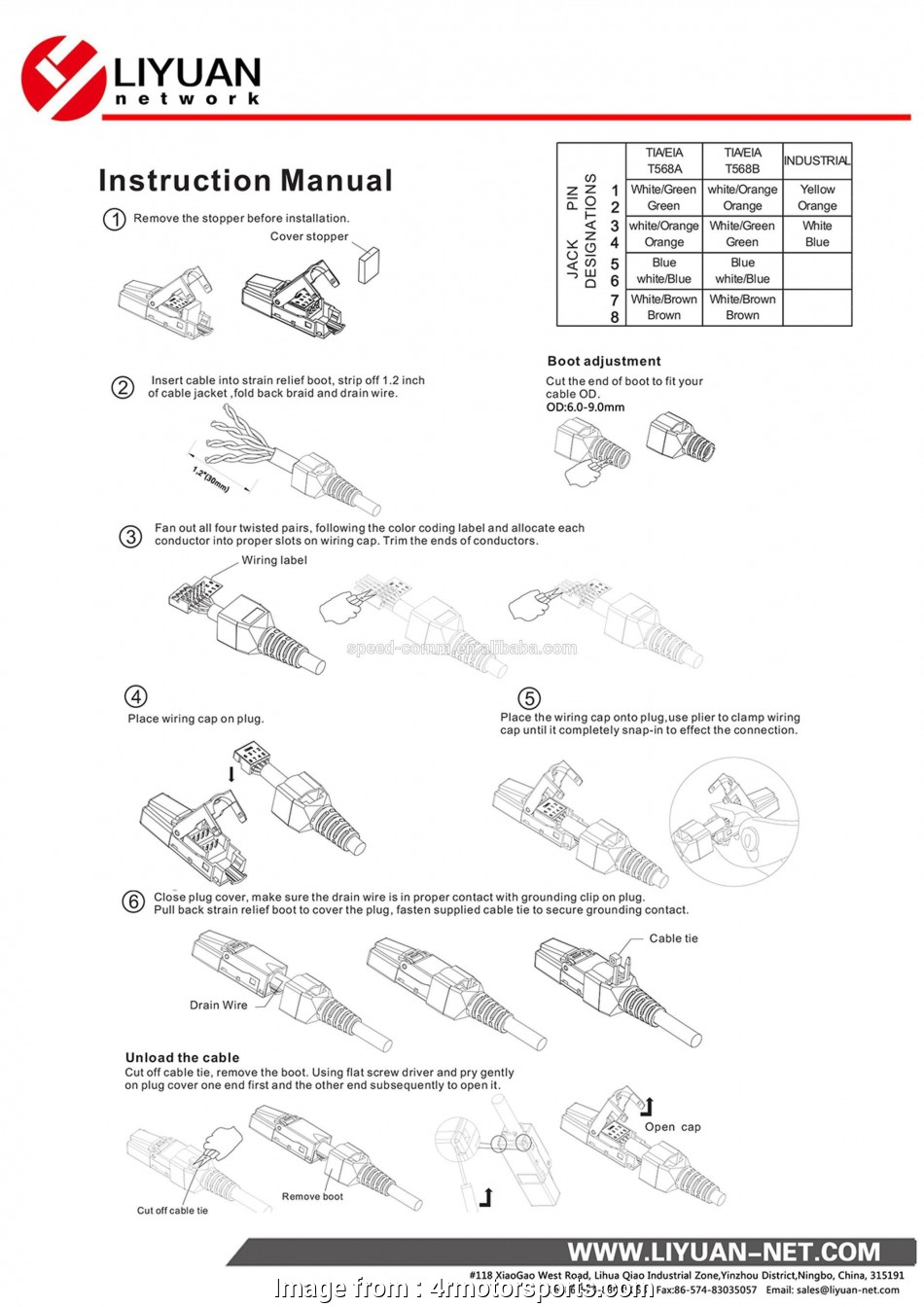 Rj11 To Rj45 Wiring Diagram from tonetastic.info