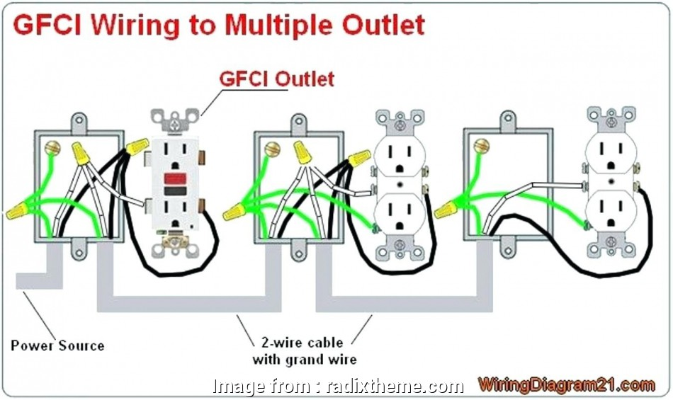 wiring diagram for multiple gfci outlets Electrical Wiring Outlet Multiple Receptacle Diagram, Wire Throughout Gfci Receptacle Wiring Diagram At Receptacle Wiring Diagram 8 Fantastic Wiring Diagram, Multiple Gfci Outlets Ideas