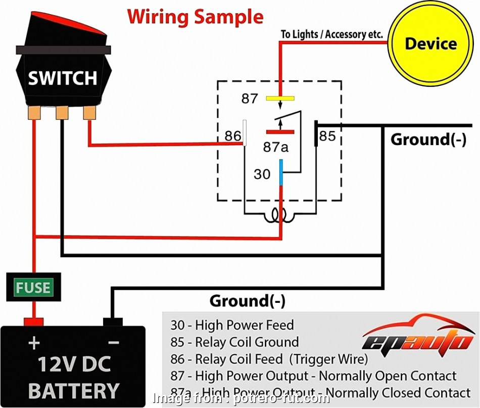 6 spotlight wiring diagram | wiring diagram panel on light relay wire  diagram, battery diagram