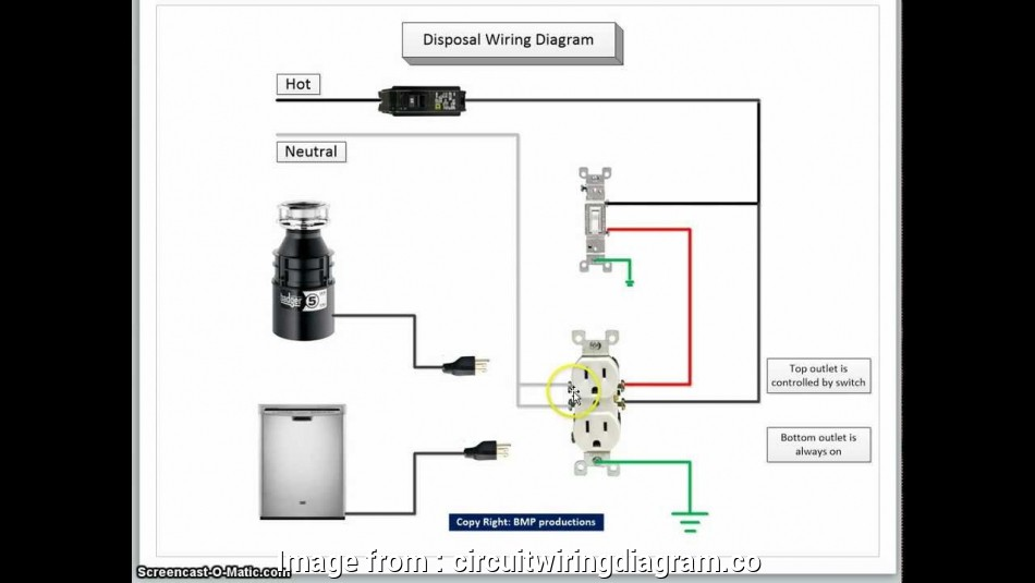 10 Nice Wiring Switched Outlet  Garbage Disposal